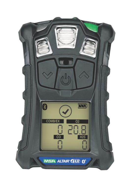 MSA ALTAIR 4XR Multi Gas Detector (LEL,O2,CO,H2S,NO2,SO2)