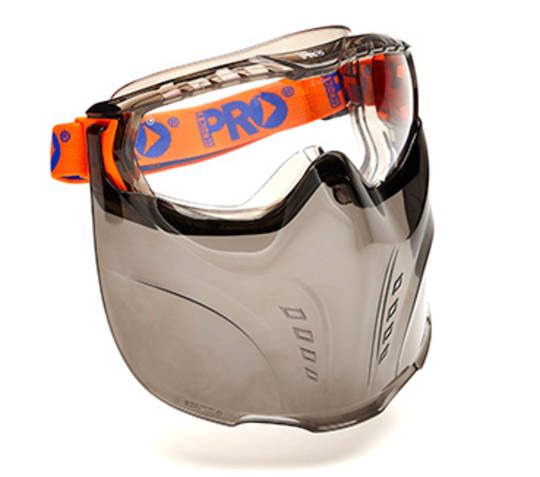 Vadar Goggle Visor Combination