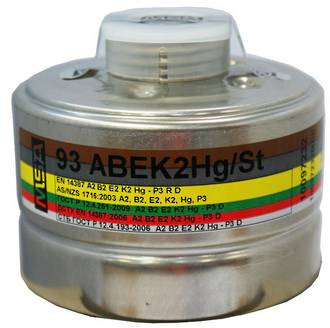 MSA Multigas & Toxic Particulate Canister (ABEK2 HG P3)