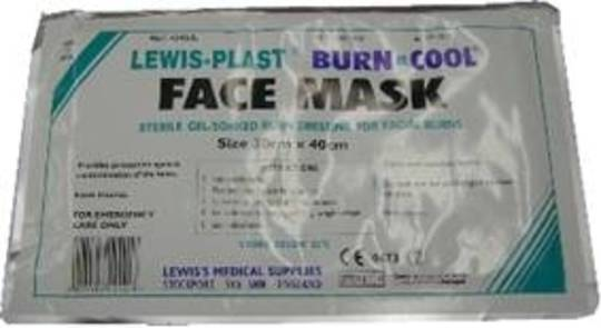Burn Face Mask