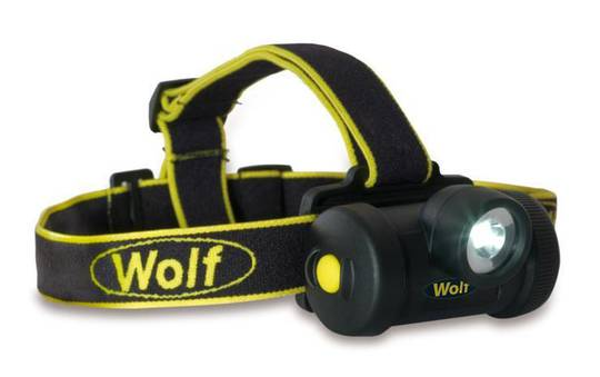 WOLF ATEX LED Zone 0 Headtorch