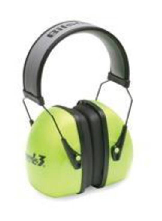 Leightning L3 Hi Vis Over-the Head Earmuff - Class 5+