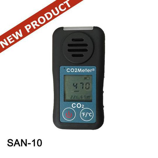 Personal CO2 Safety Monitor