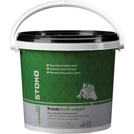 Stoko® HD Kresto® Kiwk Wipes 130 Bucket