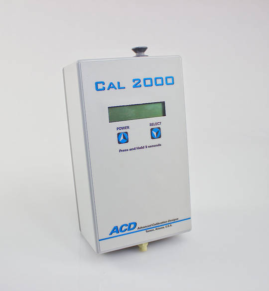 ACD Cal 2000 Calibration Gas Instrument (CL2, CLO2, H2, H2S, HCN)