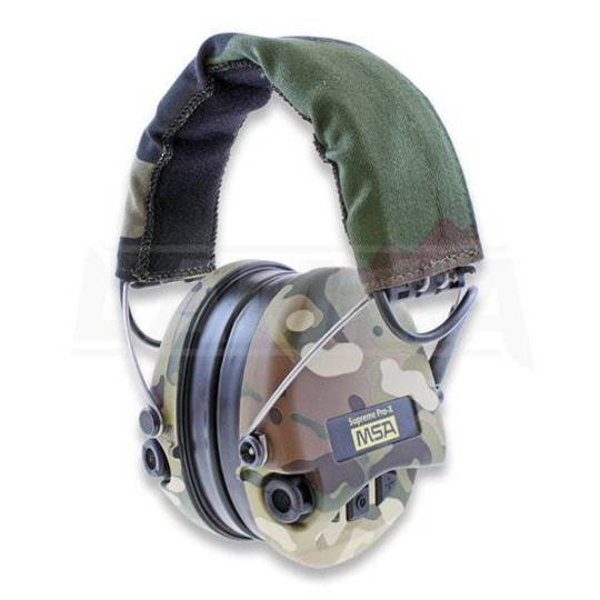 MSA Supreme Pro X Camo with CutOff Muff