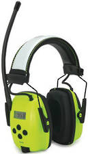 Sync AM/FM/MP3 Digital Hi Vis Radio Ear Muffs
