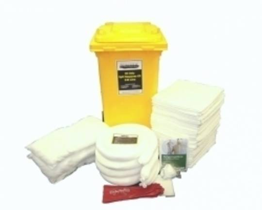 SpillTech 240L Oil Only Spill Kit Wheelie Bins