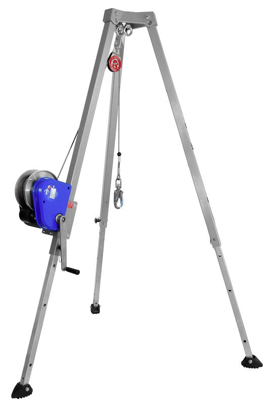Ikar Heavy Duty Man & Materials Tripod Kit