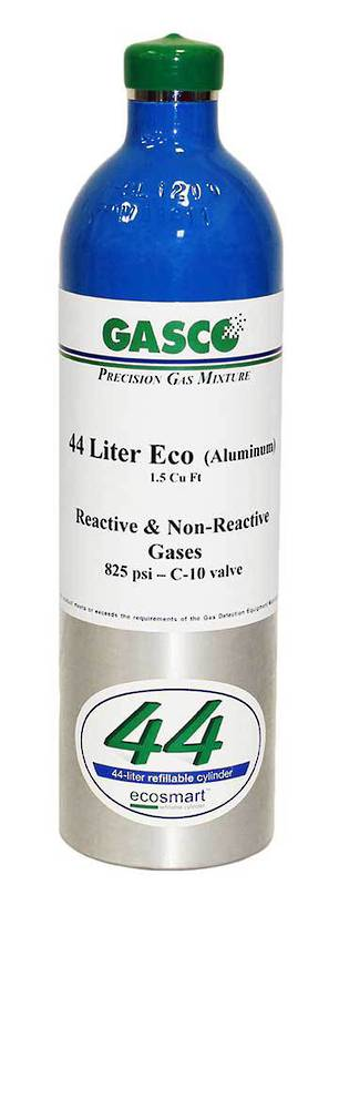 GASCO 44ES Ecosmart Refillable Cylinder - Multi Gas Mix