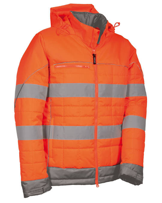 Recife High Visibility Puffer Jacket