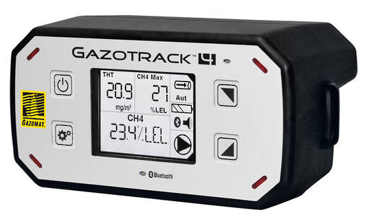 GazoTrack 4 Multi-function Gas Leak Detector
