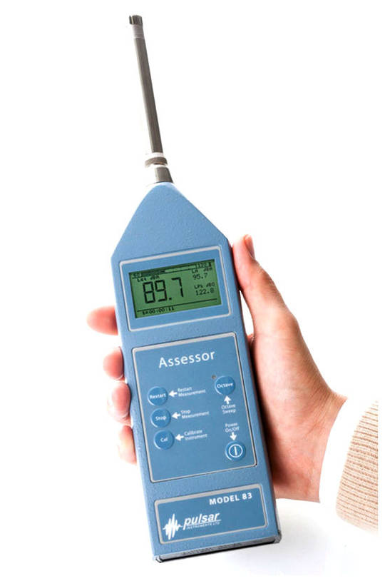 Pulsar Assessor Model 81A & 82A Integrated Class 1/Class 2 Sound Level Meter