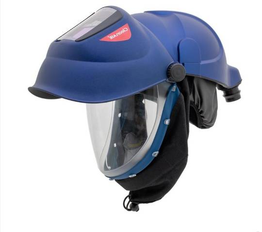 CleanAir CA-40GW Safety Helmet with a Welding & Grinding Shield