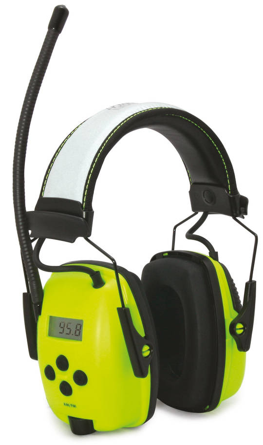 Howard Leight Sync® AM/FM/MP3 Hi-Vis DigitalRadio Earmuff