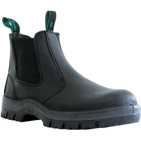 Hercules Black Slip On Safety Boot