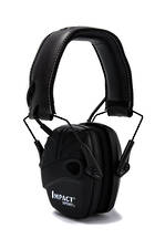 Impact Sport Ear Muff, Tactical Black (Black) - Class 4