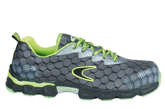 Cofra Lowball Grey/Lime Safety Shoes