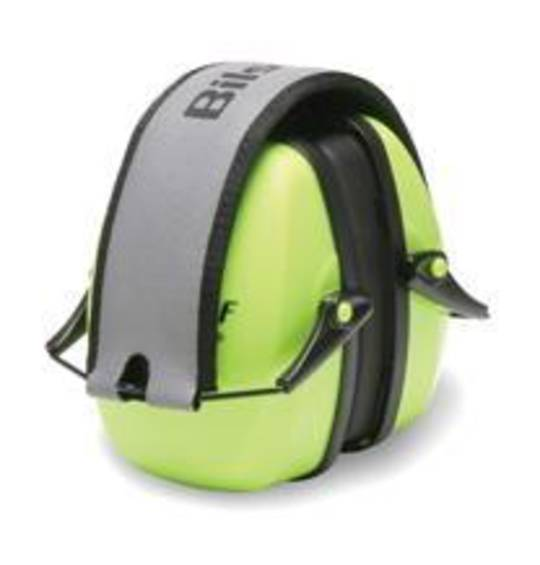 Howard Leight Leightning L2FHV Hi Vis Folding Earmuff - Class 5