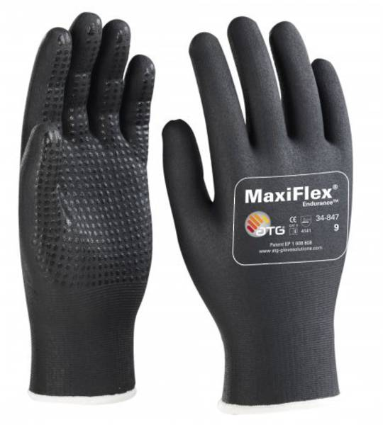 ATG Maxiflex Endurance - Drivers Style with Nitrile Dotted Palms & Fingers