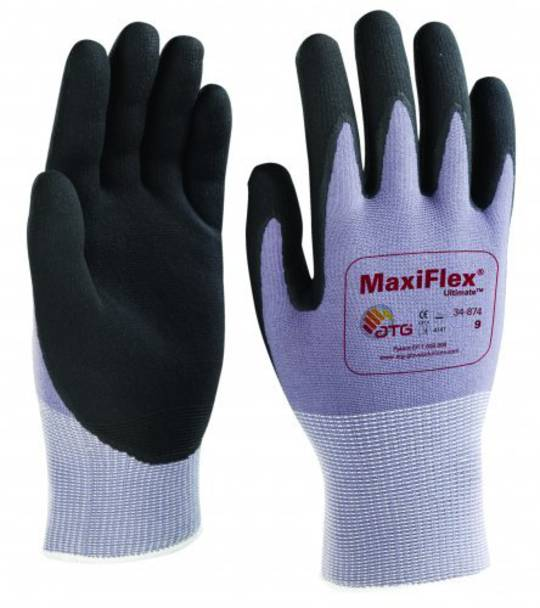 ATG Maxiflex Ultimate - Finger Coated