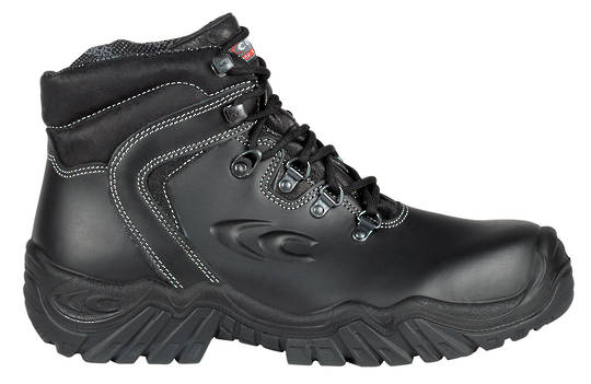 Pirenei Black Lace Up Safety Boot