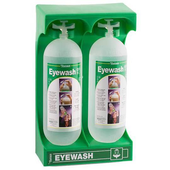 Tobin Eyewash Mobile Stand - 2 Bottles