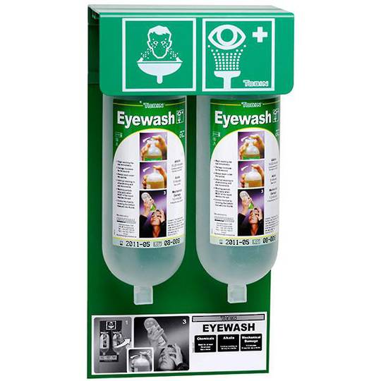 Tobin Eyewash Stationary Stand - 2 Bottles