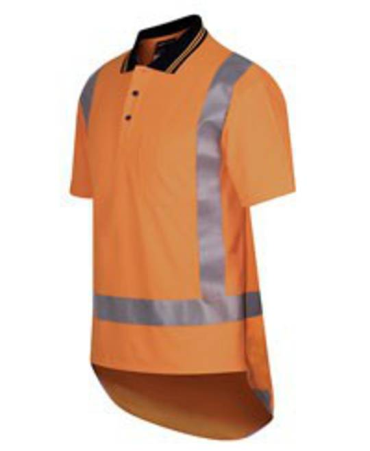 Hi Viz Short Sleeve TTMC Orange Polo