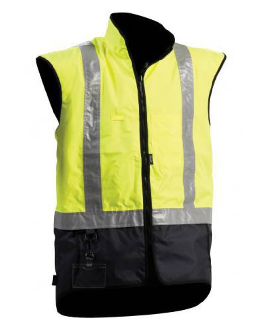 Bison Stamina Day/Night Yellow Navy Vest