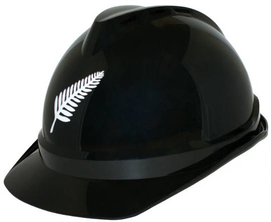 MSA V Gard 500 Black Vented Cap - LIMITED EDITION