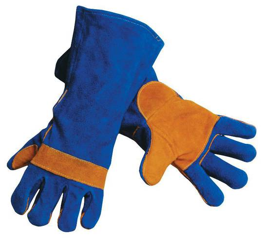 MSA Blue/Gold Welders Gauntlet