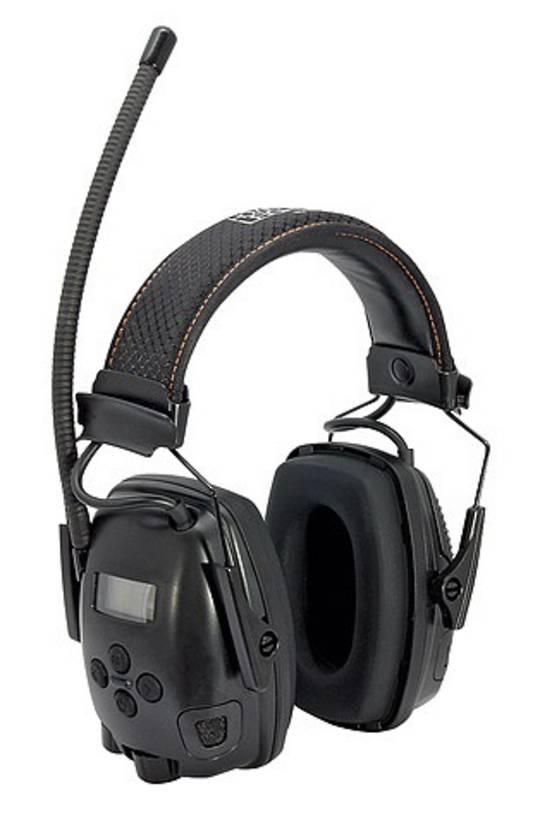 Sync® Electo FM/MP3 Digital Radio Earmuff
