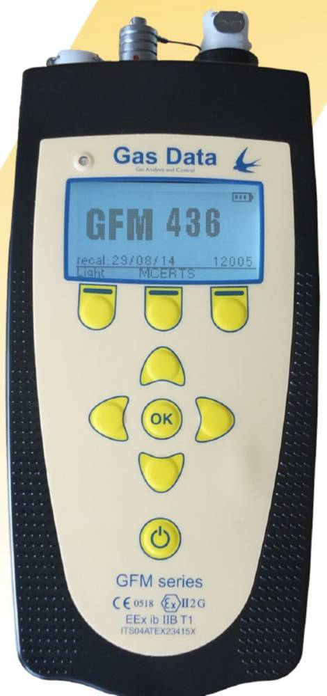 Gas Data GFM400 series Landfill Gas Analysers