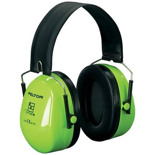 Peltor H7F Hi Viz Folding Headband Earmuffs