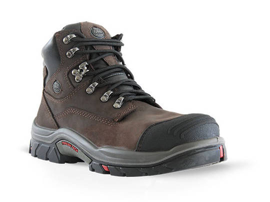 Hero 504 Brown Lace Up Safety Boot