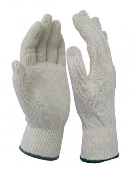 Knitted Cotton Glove - Medium Weight