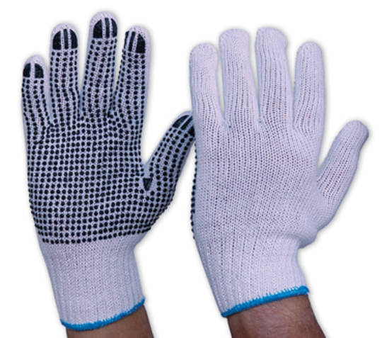 Knitted Polka Dot Glove (Single Sided)