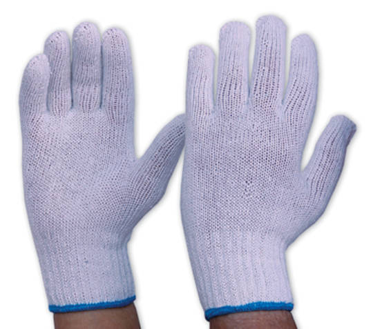 Knitted Polycotton Glove - Heavy Weight
