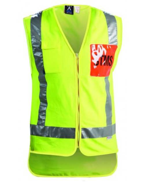 STMS Zipped Safety Vest