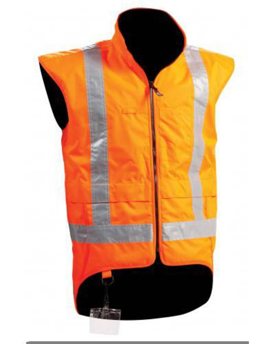 Bison Stamina TTMC Orange Vest