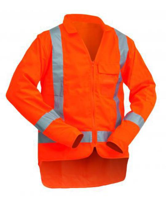 Hi Viz Long Sleeve TTMC-W Orange Vest