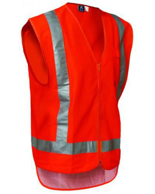 Hi Viz Vest Transit Approved Orange