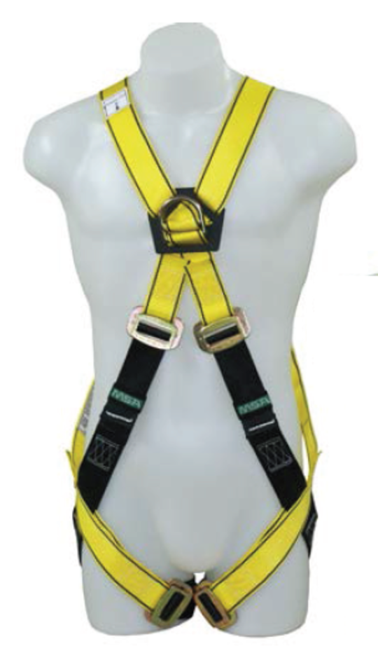 MSA Workman Gravity Crossover Harness