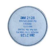 3M™ Particulate Filter 2128, P2, with Nuisance Level Organic Vapour/Acid Gas Relief