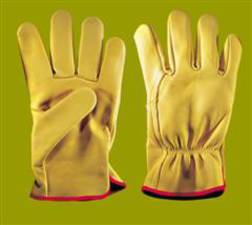 HSE Logger Yellow Drivers Glove