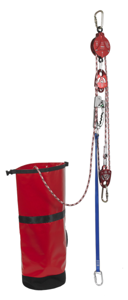 Ikar Rope Pulley Rescue System with 2 Way Auto Locking Mechanism