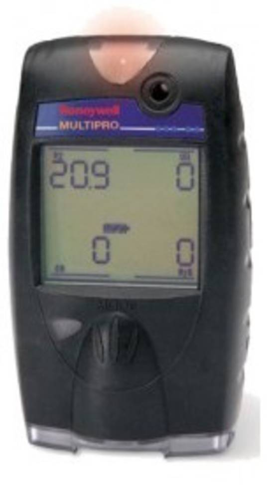 Honeywell Multipro Multi-Gas Detector (CG,O2,CO,H2S)