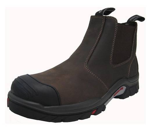 Hero 506 Brown Slip On Safety Boot